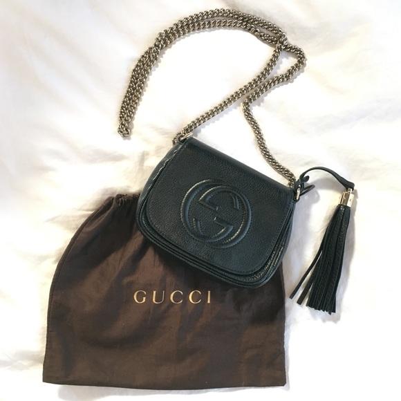 945ae78d5b8234 Gucci Bags | Authentic Soho Chain Strap Crossbody Bag | Poshmark